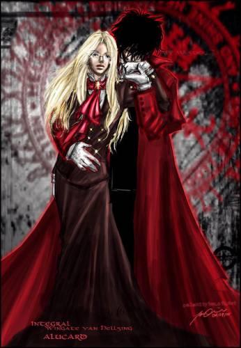 Вампиры взгляд новый(Herushingu)